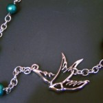 Sparrow Necklace, $20