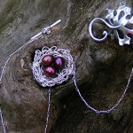 Bridal Nest with Maple Leaf Clasp